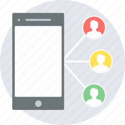 chat, chatting, group, social, team, wifi icon