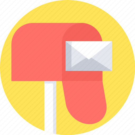 box, envelope, letter, mail, post icon