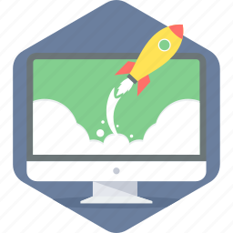 launch, project, website icon