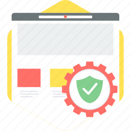 page, protect, protection, safe, safety, secured, security icon