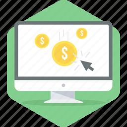click, pay, pay per click, per, ppc icon