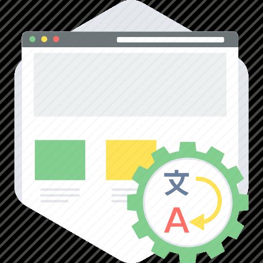 code, coding, language, programming, translate, translation, website icon