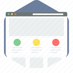 document, page, web, website icon