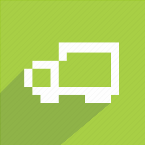 bus, car, editable, green, transportation, van, vehicle icon