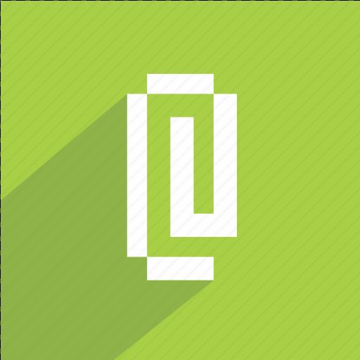 attach, attachment, clip, file, office, paperclip, video icon