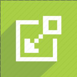 arrows, fullscreen, minimize, remove, shrink, window icon