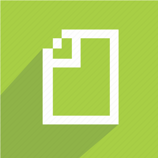 document, page icon