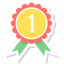 achievement, award, badge, medal icon