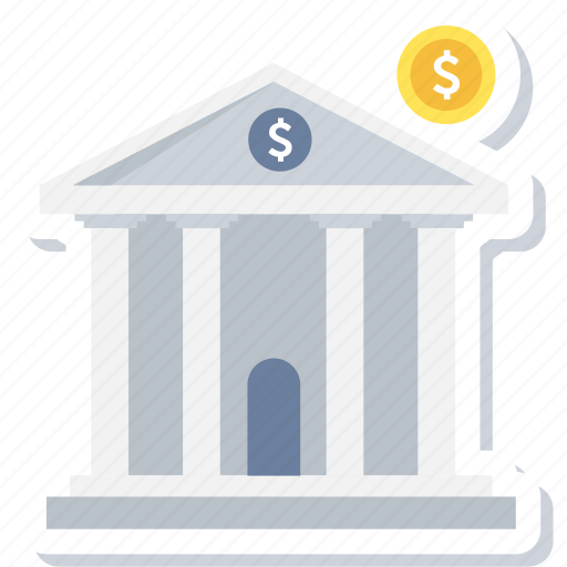Bank, finance, financial, institution, investment, stock, treasury icon - Download on Iconfinder
