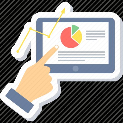Analysis, business, chart, diagram, graph, presentation, statistics icon - Download on Iconfinder