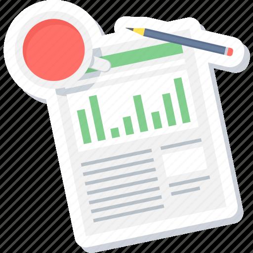 business, chart, graph, plan, report, tea break, tea time icon