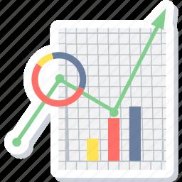analysis, analytics, business, graph, progress, report, statistics icon