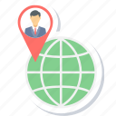 client, gps, location, map, navigation icon