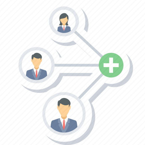 business link, connection, connectivity icon