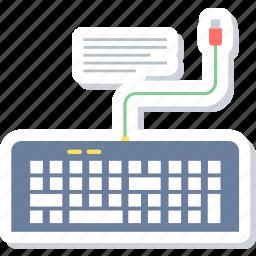key, keyboard, keypad icon