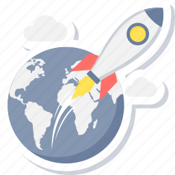 business, launch, start, startup icon