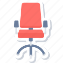 chair, office, boss chair