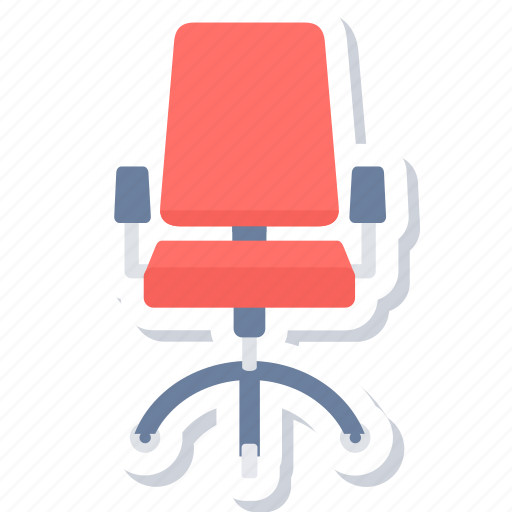 boss chair, chair, office icon