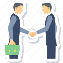 agreement, contract, deal, handshake, meeting, partnership icon