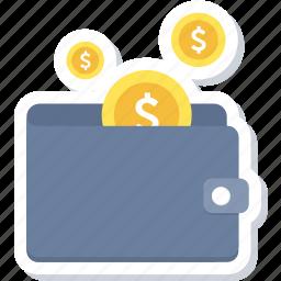 cash, cashback, finance, funds, money, savings, wallet icon