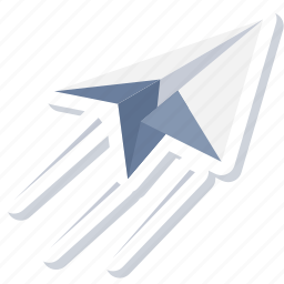 communication, email, mail, post, send icon