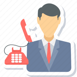 call, calling, contact, customer, help, service, support icon