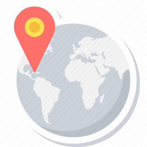 globe, gps, location, map, navigation, place, world icon