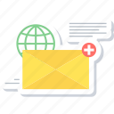 mail, message, envelope, inbox, letter, email icon
