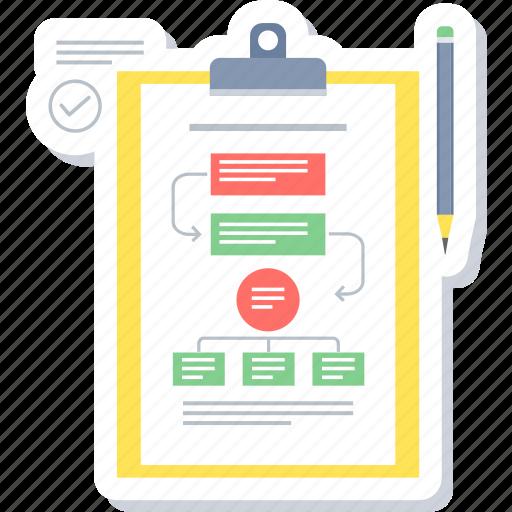 flow, hierarchy, structure, work, work flow icon