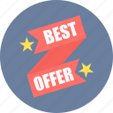 best, discount, label, offer, sale, tag icon