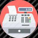 billing, machine, counter