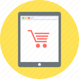 buy, cart, ecommerce, empty, online, shop, shopping icon