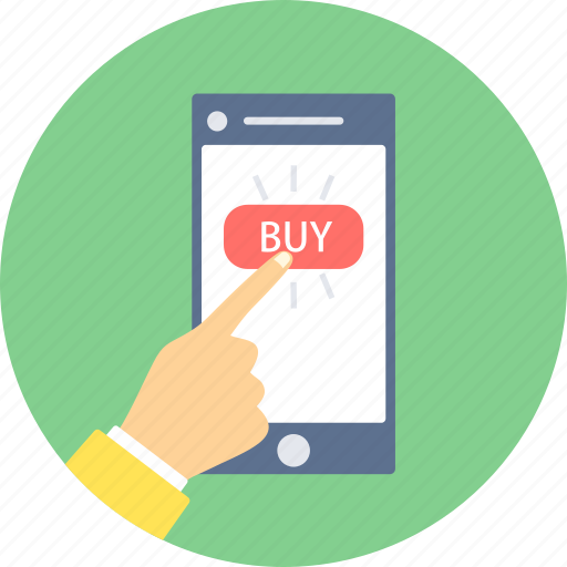 buy, click, online, purchase, shopping icon