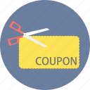 coupon, discount, label, offer, online, sale, tag icon