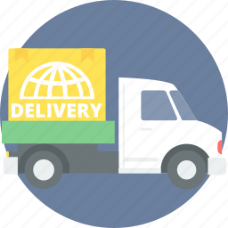 cargo, delivery, shipping, transport, transportation, truck, van icon