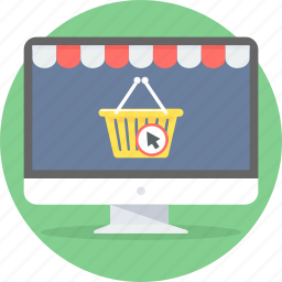 basket, buy, cart, commerce, e, online, shopping icon