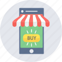 buy, mobile, online, phone, shopping icon