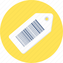 barcode, discount, price, product code, tag icon