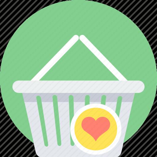 add to wishlist, basket, bookmark, cart, favourite, wishlist icon