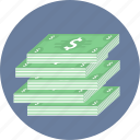 book, cash icon