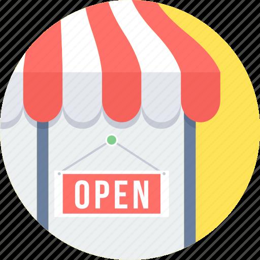 open, sale, shop, store icon