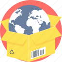 carton, delivery, package, parcel, shopping icon