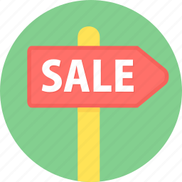 board, hording, offer, sale icon