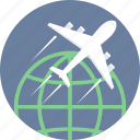 delivery, international, transportation, first flight