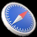 app, web, development, safari, browser, logo, application