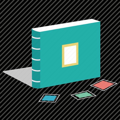 book, memento, notebook, photo album icon