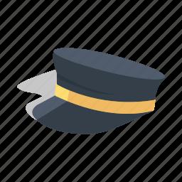 cup, hat, naval, navy, police, soilder, uniform icon