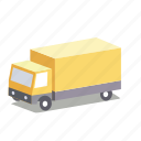 courier, delivery, express, shipment, shipping, transport, truck icon