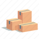 box, boxes, cargo, order, present, shipment, shopping icon