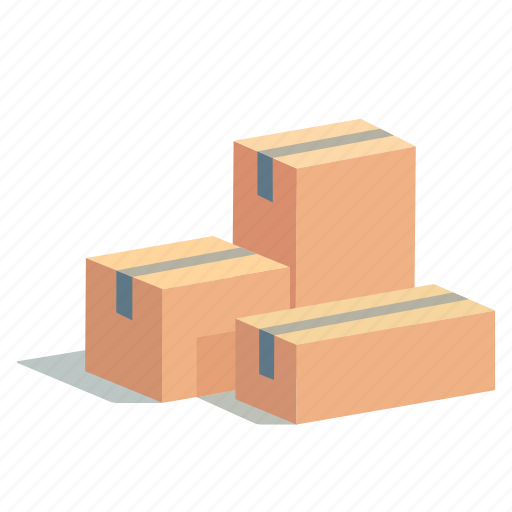 box, boxes, cargo, order, present, shipment, shopping icon